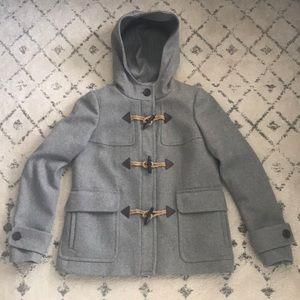 Jcrew Wool Coat Grey sz 4